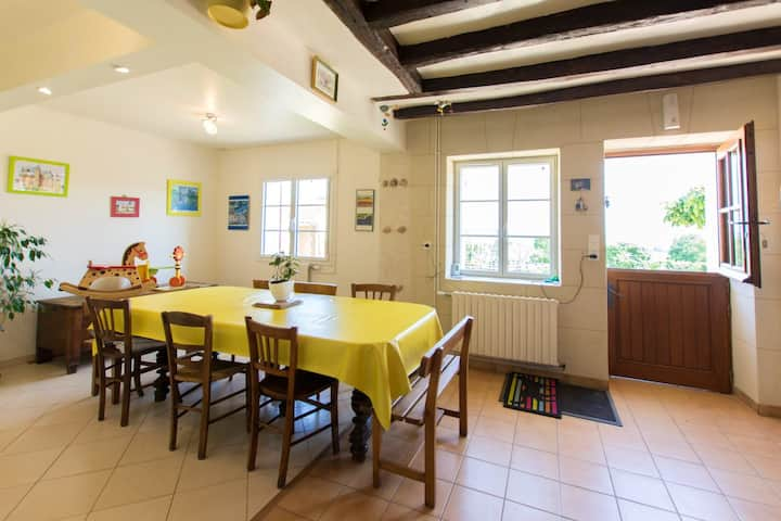 House with 3 bedrooms in Ruillé-sur-Loir, with furnished garden and WiFi