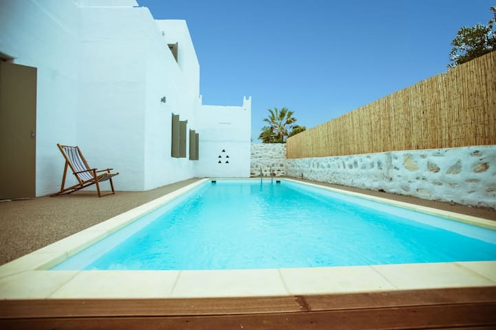 Luxury Private home with pool in Naousa,Paros - Naousa - Villa