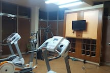 GYM downstairs