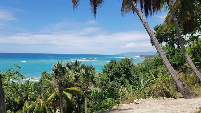 Eco, ocean view, paradise beach cottage