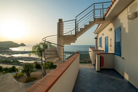 2-room apartment in panoramic residence - Capo d'Orlando - Apartment