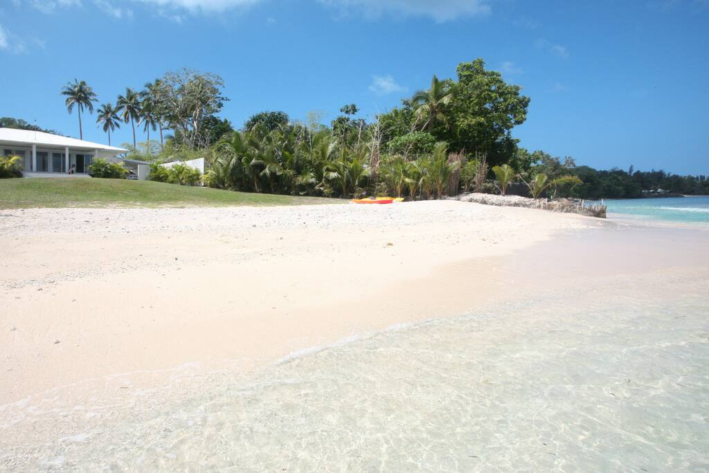 Absolute privacy on your own beach with coral tidal pool and spectacular sunsets