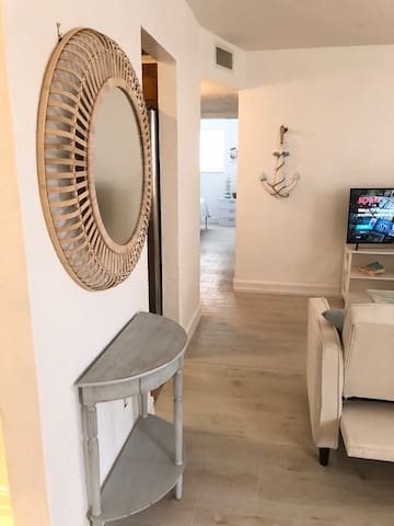 Newly renovated beachside condo