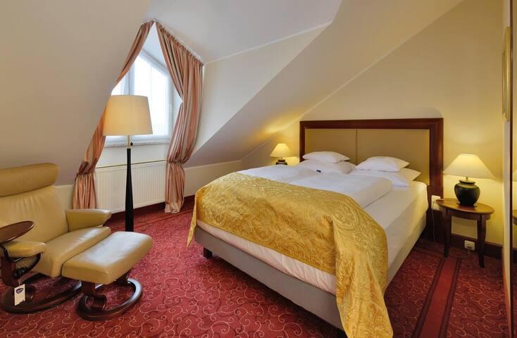 Doppelzimmer Queensize Komfort mit Klimaanlage