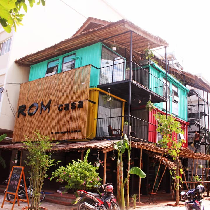 ROM CASA HOSTEL DANANG bed in dorm 01