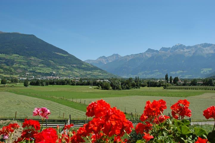 Ferienwohnung am Bauernhof - Glurns