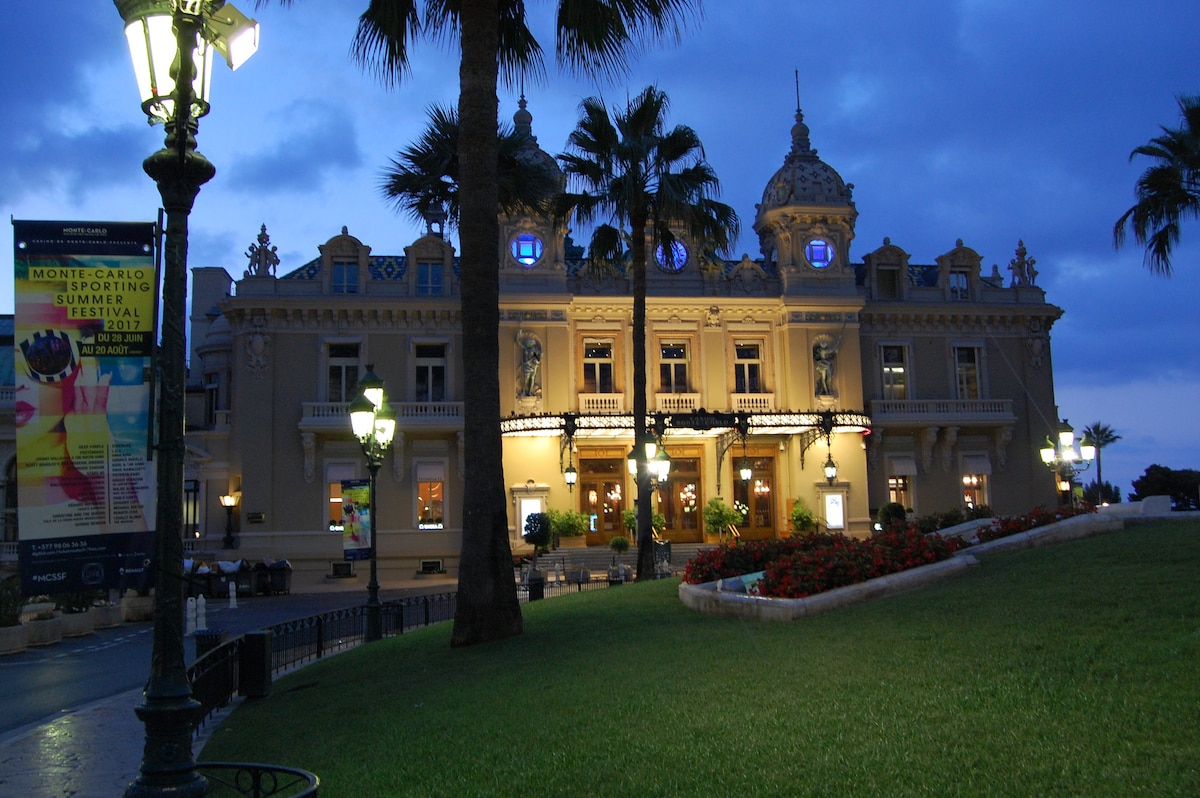 Bright modern luxurious bd mn fm monaco casino apartments