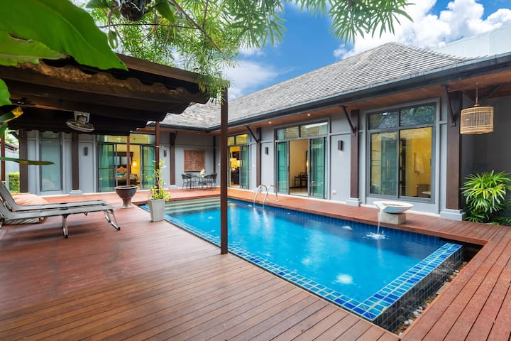 Satori Thai villa 2 bedrooms with pool Rawai
