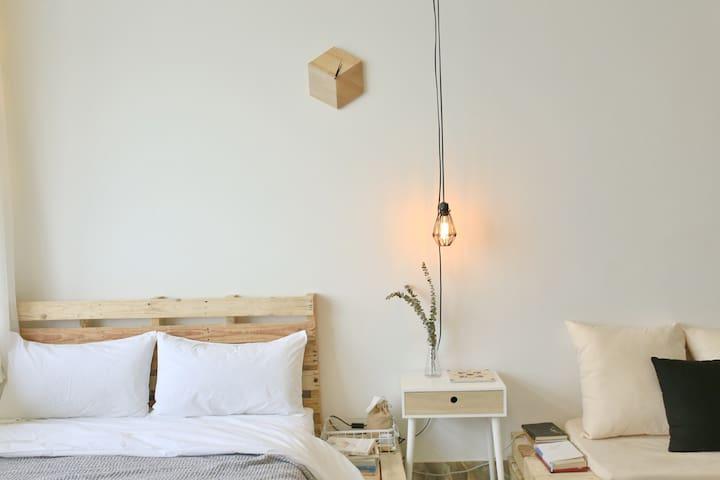 新房特惠!【随居】home.8 投影loft挑高公寓近帆船游艇码头 - Xiamen - Apartmen