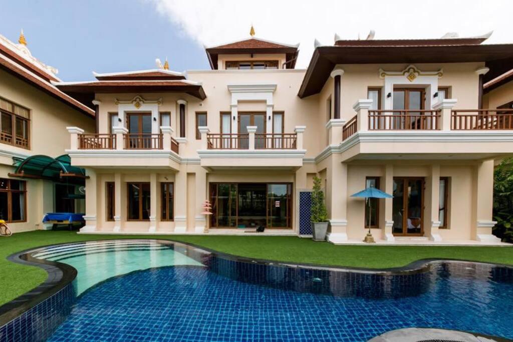 หน้าบ้านแบบเต็ม