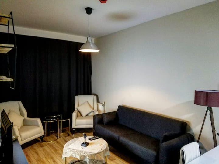 1+1 amazing view,luxury furnitur kozapark for rent