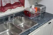Kitchen Sink & Window