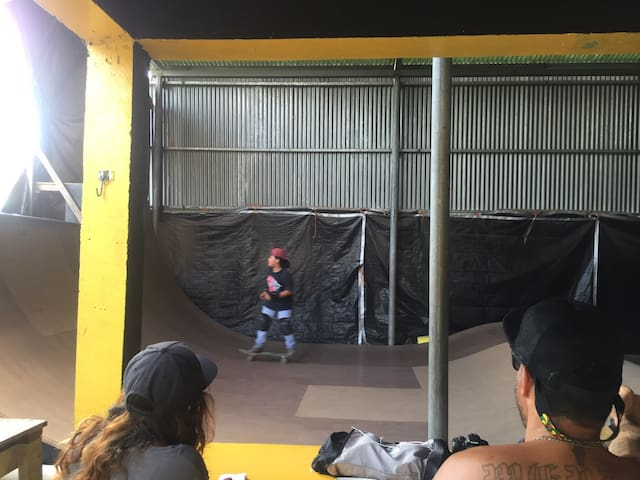 Hostal Aguamala , Skate Ramp - Bocas del toro  - Slaapzaal