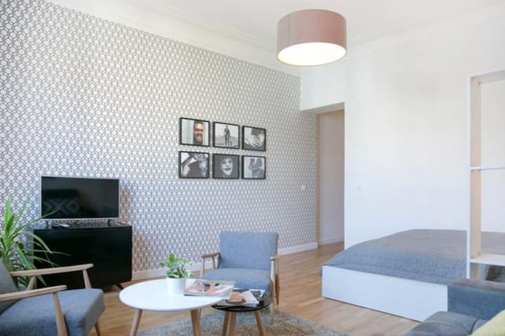 Modern Savamala studio apartment in city center