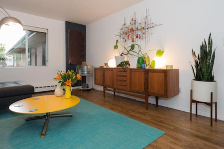 Cute Mid Century near Downtown - Seattle - Apartment