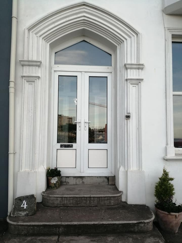 Mervue Apartment, uninterrupted sea and town view,