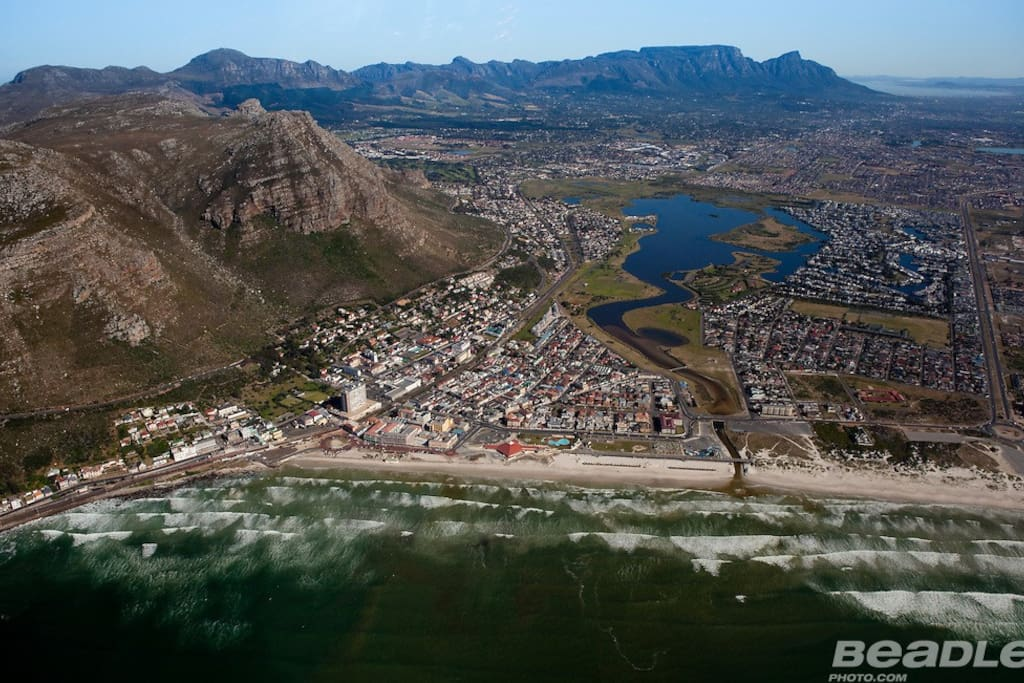 Aerial Photography, Muizenberg, Cape-Town