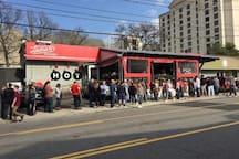 Hattie B's Hot chicken! Must Nashville thing to do. 3 locations now!