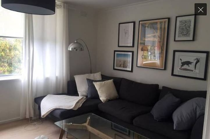Sunny bedroom in newly renovated apartment - Armadale - Apartamento