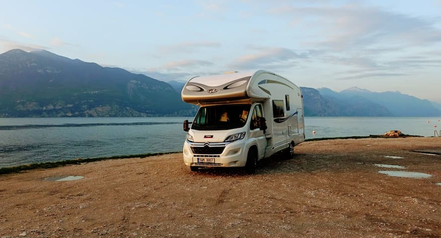 Motorhome Czech, Central Europe