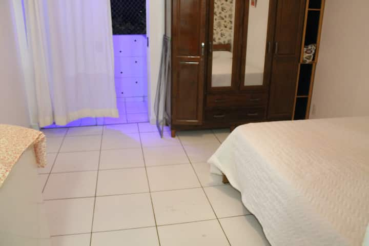 lindo apartamento ateliê equipado e mobiliado