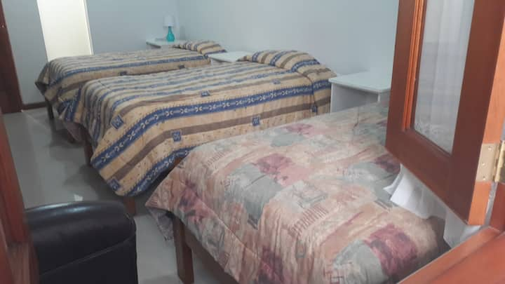 WITHE ROOM 3 BEDS WITH , SAN BLAS , CUZCO ,PERU'
