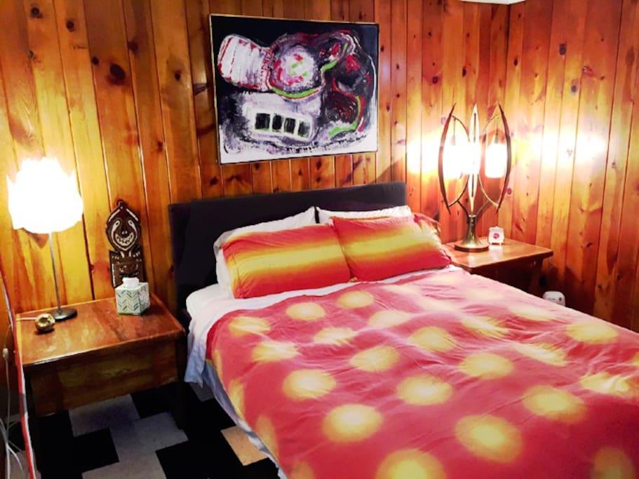 Bedroom in Suite 4