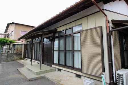JR羽鳥駅徒歩1分 日本の平屋貸切 6名まで 大型駐車場有り BBQも