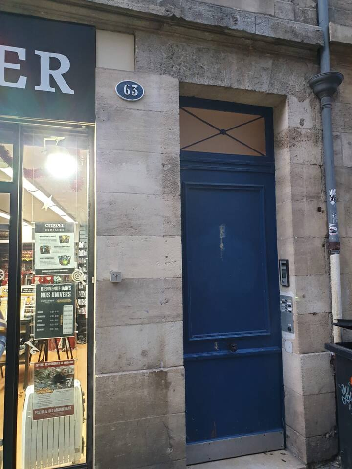 The place to stay in central Bordeaux