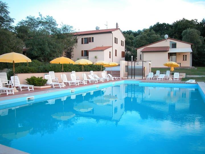Villa La Carraia,paradiso sulle colline pisane
