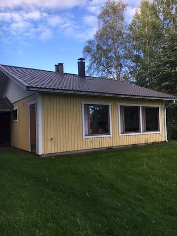 House on the lake at Ollila farm