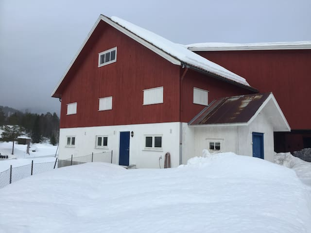 Dalane, Drangedal, Telemark -Unique farm apartment