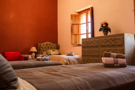 Palais Chehrazad Marrakech - Chambre d'hôte triple