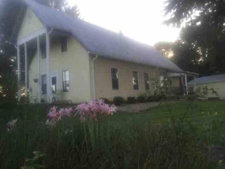 Peace in the Countryside, 1800's  era Farmhouse