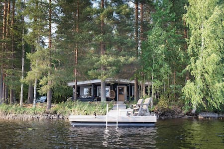 Between fishes – our house on the lake in Finland