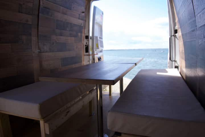 Camper van with WiFi and 50 inch TV!