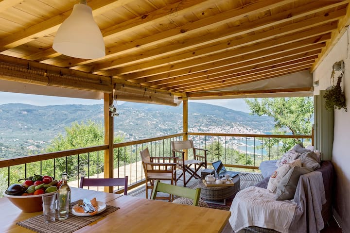 """anemelia"" cottage - καλύβι ""ανεμελιά"" - Skopelos - บ้าน"