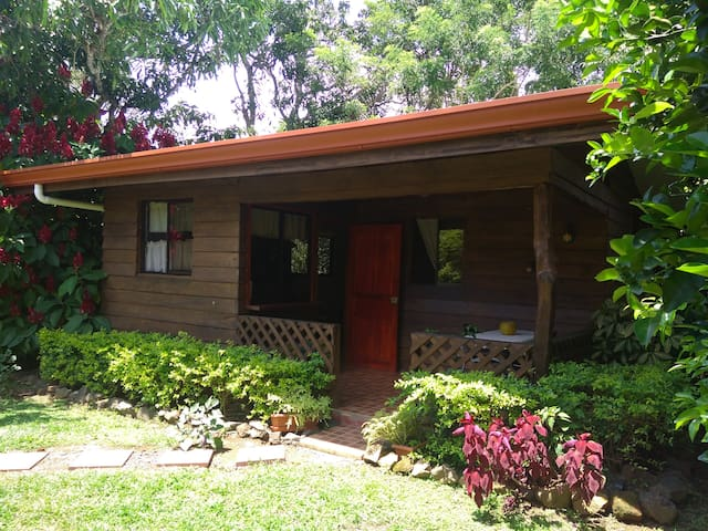 Cozy studio just off main street. - Atenas - Cabin