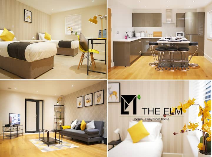 ⭐️Family or Contractors✅Modern flat✅ 5 Guest