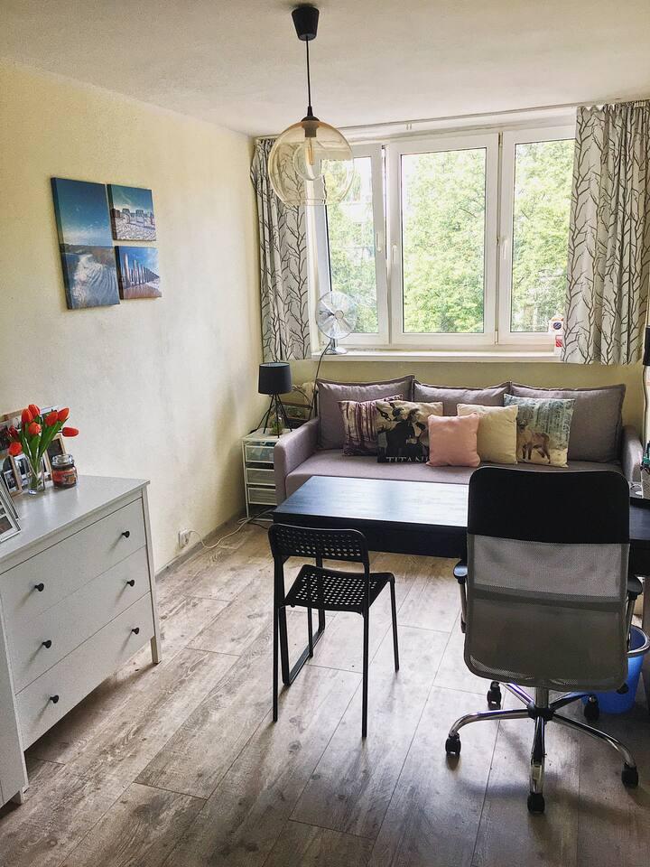 Apartament w centrum - idealny dla par