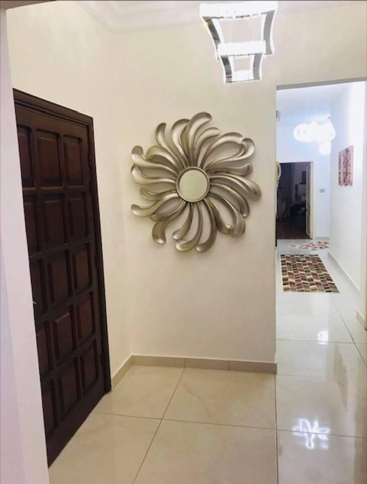 Eingangsbereich Haustür