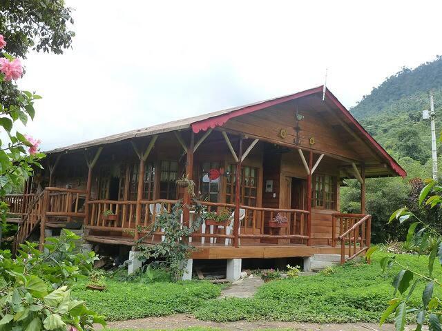 Ruka Ayufal - Rio Blanco - Mindo - Cabana