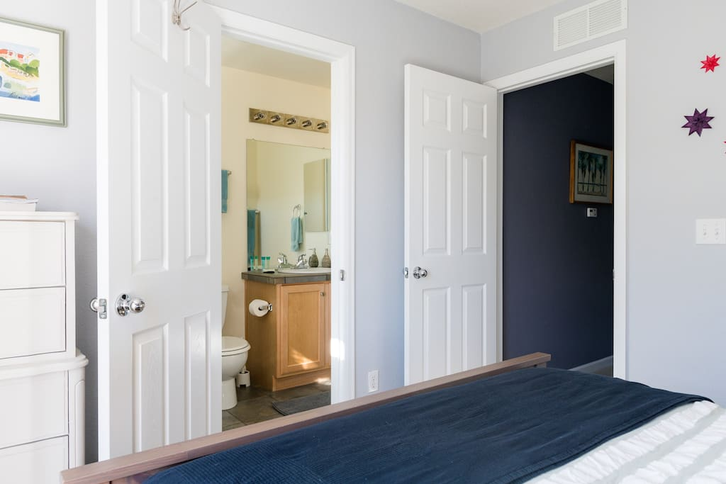 Enjoy your private bathroom as it is attached to your room.
