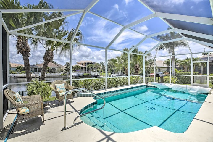 NEW! Waterfront Home w/Pool, Fishing + Gulf Access