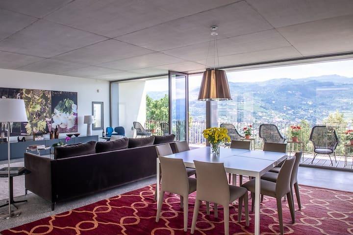 Villa Covela com vista para o Douro