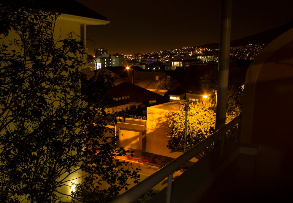 Balcony view of Buitengracht & Long Street.