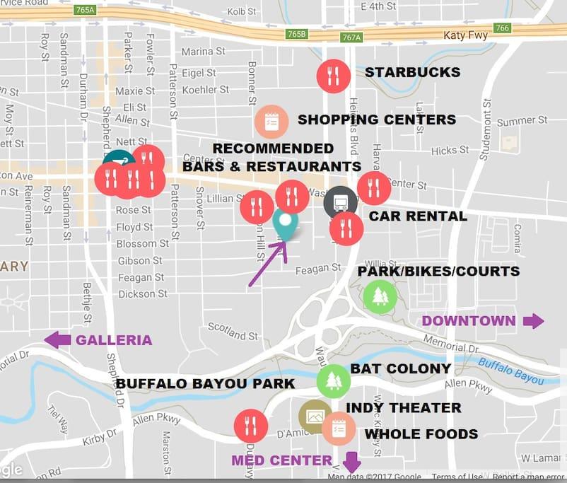 Centrally Located, Park & City