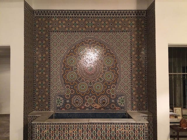 Traditional house in Fes