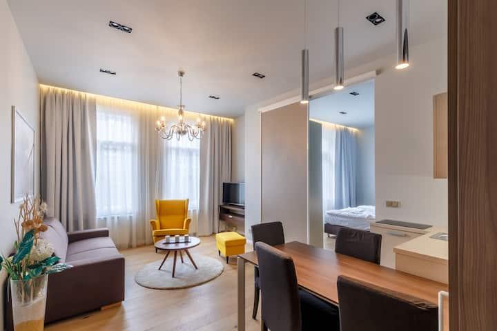 Apartments Bohemia Rhapsody 40 sqm with balcony