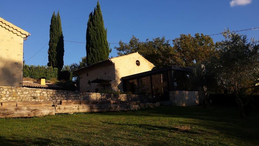 Maison de charme au coeur de la nature Ardéchoise - Saint-Montan - Talo